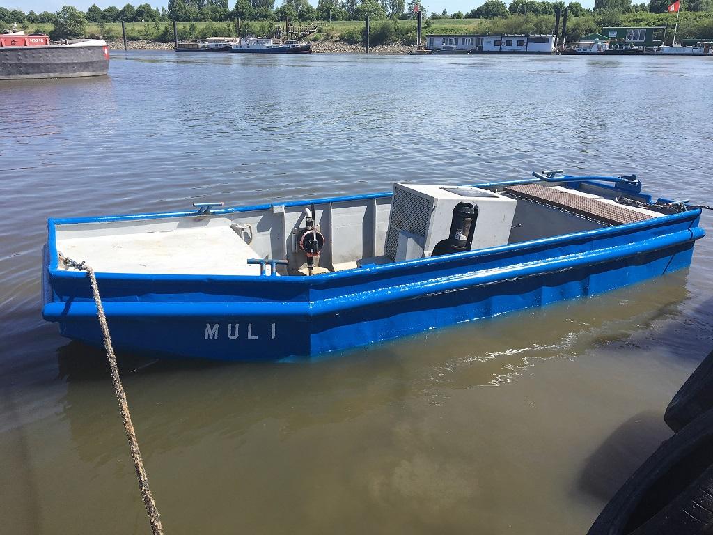 Arbeitsboot Muli